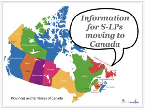 Information for SLPs moving to Canada