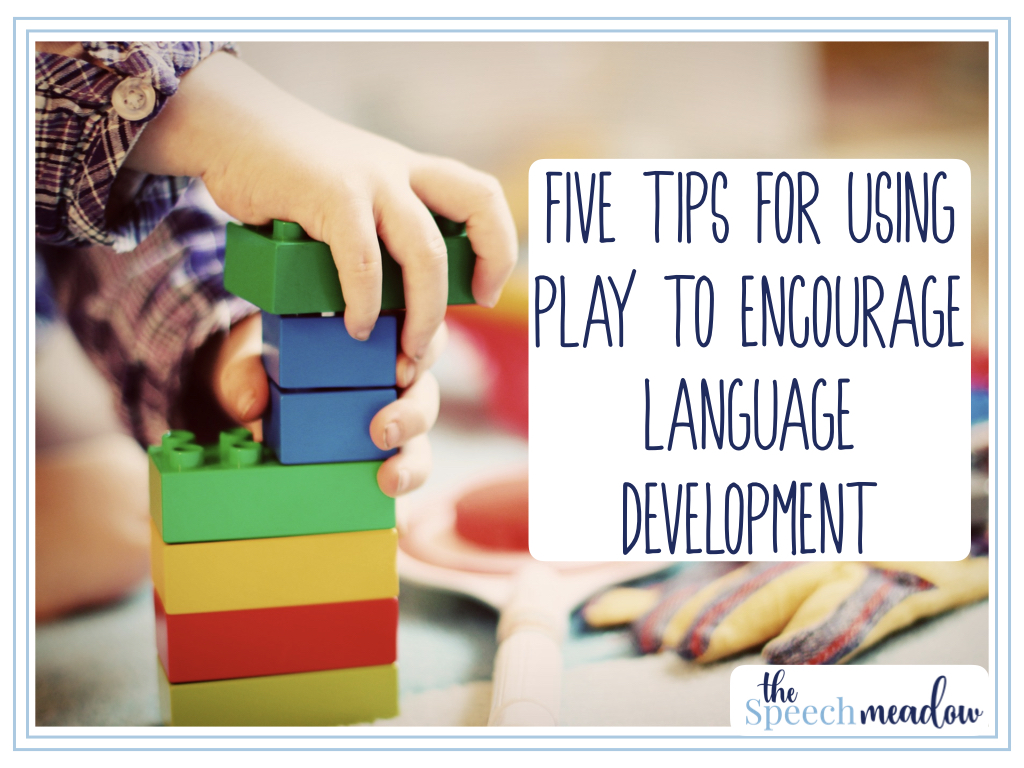 Five Tips For Using Play to Encourage Language Development