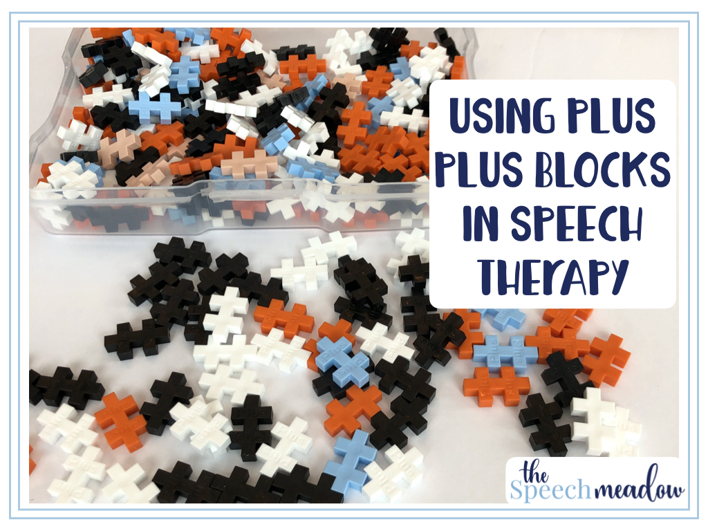 Using Plus Plus Blocks in Speech Therapy