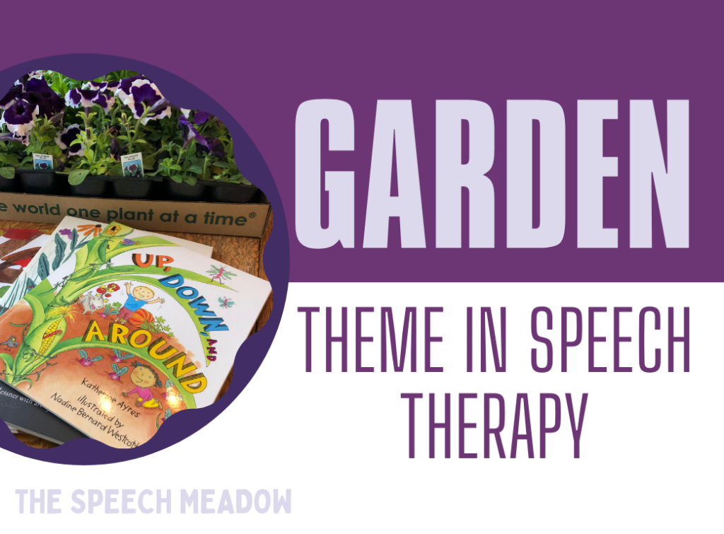 """Title, """"Gardening in Speech Therapy"""""""